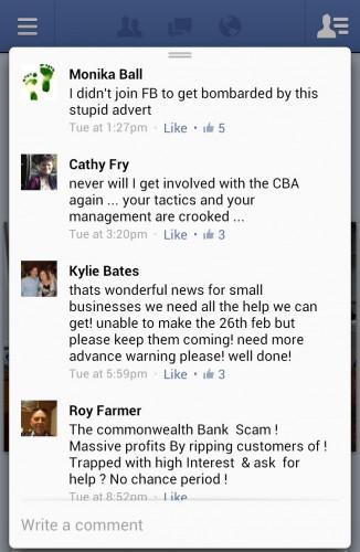 Commonwealth Bank social media fail