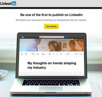 Publishing on LinkedIn
